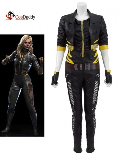 Cosdaddy Injustice 2 Black Canary Kid Adult Female Superhero