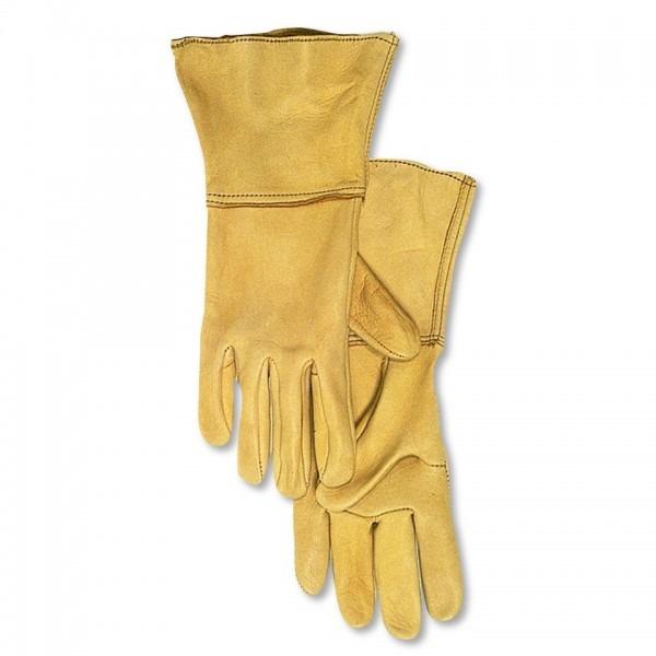 Aerostich Insulated Deerskin With Gauntlet Gloves    Aerostich