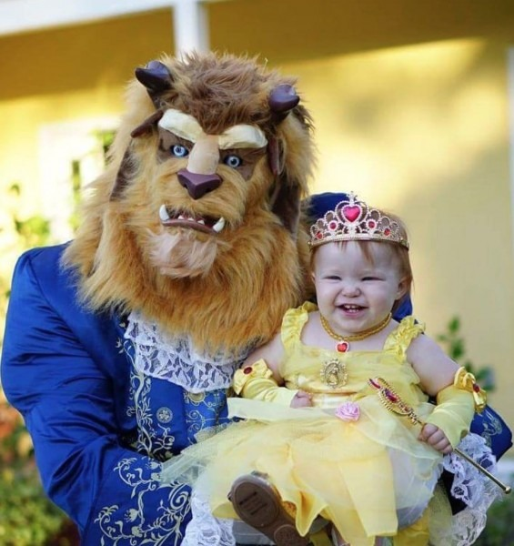 Belle And The Beast Father Daughter Halloween Daddy Daughter