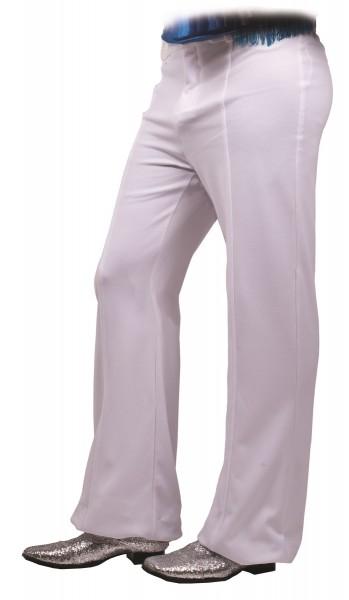 White Disco Mens 70s Pants Costume