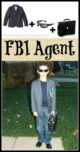 Easy Fbi Agent Costume  18 Costumes You Already Have In Your