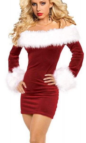 Amazon Com  Rukiwa Sexy Santa Costume Women Christmas Party Fancy