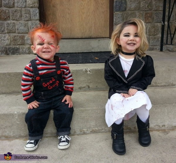 54 Cute Creepy And Clever Halloween Costumes For Siblings Designs