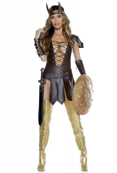 Forplay 556513 Womens Roman Warrior Dress Costume Upscalecostumes Com