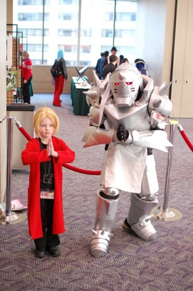 Super Cute Ed And Al Cosplay From Full Metal Alchemist!  Anime