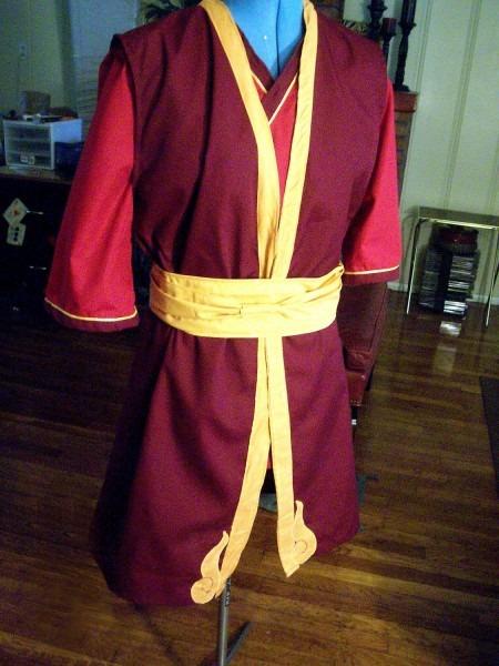 Prince Zuko Cosplay Costume (avatar The Last Airbender