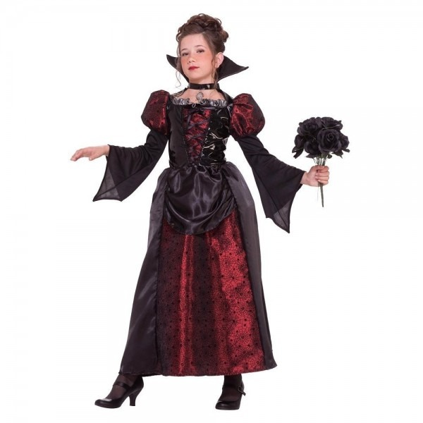 Girls' Miss Vampire Costume Medium (8