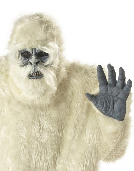 Adult Male Plus Size Abominable Snowman Yeti Costume By California