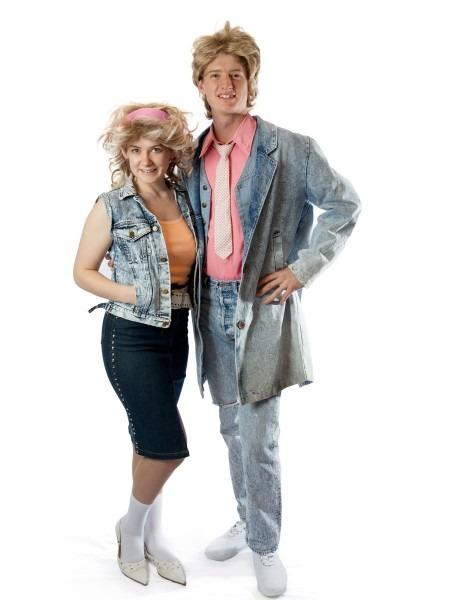 Denim 80's Couple In 2018