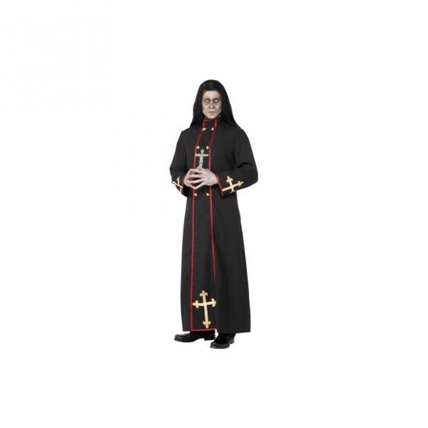 Smiffy's Men's Minister Of Death Costume, Robe, Legends Of Evil