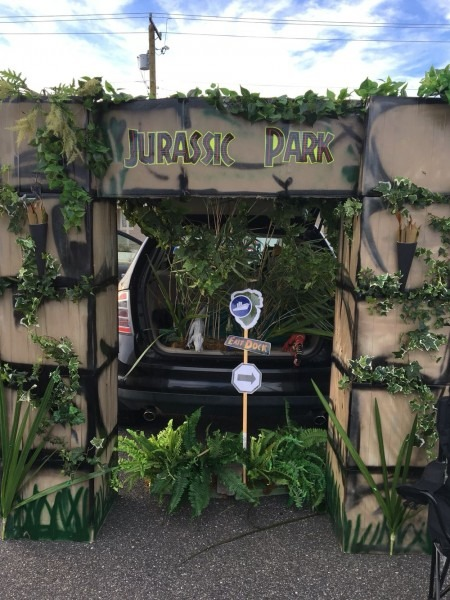 Jurassic Park Theme Trunk Or Treat