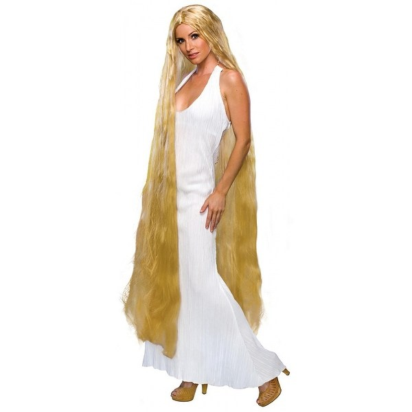 60 Inch Lady Godiva Wig Adult Costume Accessory