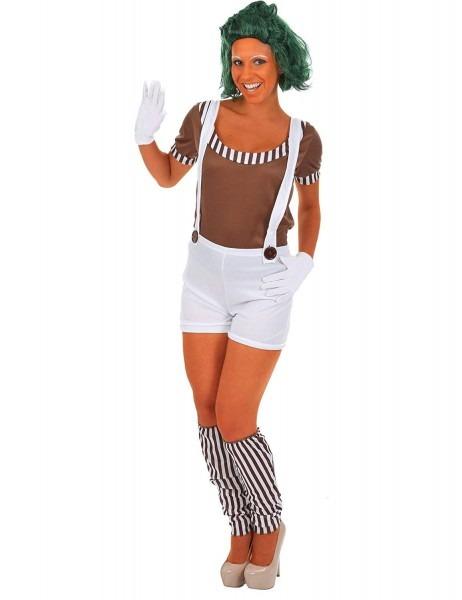Amazon Com  Oompa Loompa Female Fancy Dress Costume & Wig