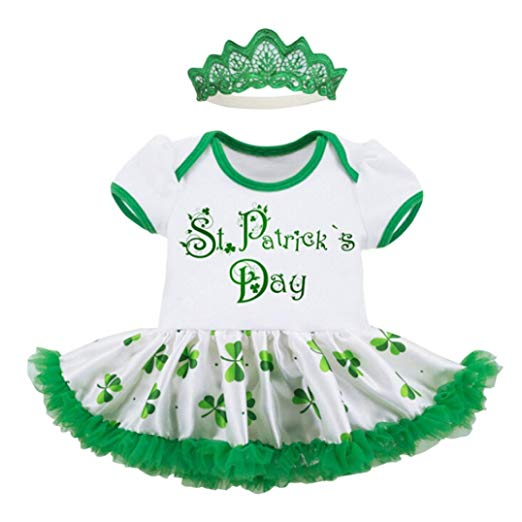 Amazon Com  Feitong Toddler Baby Girls St Patrick's Day Imperial