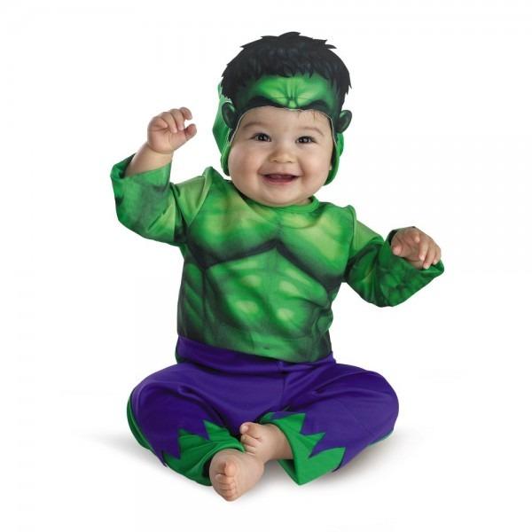 Amazon Com  Marvel The Incredible Hulk Costume,green Purple,18 M