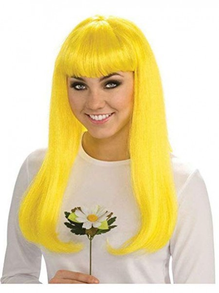 Amazon Com  Endless Road 52851 157 Yellow Smurfette Wig Only Adult