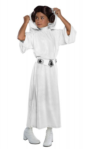 Star Wars Costume, Kids Deluxe Princess Leia Outfit, Small, Age 3