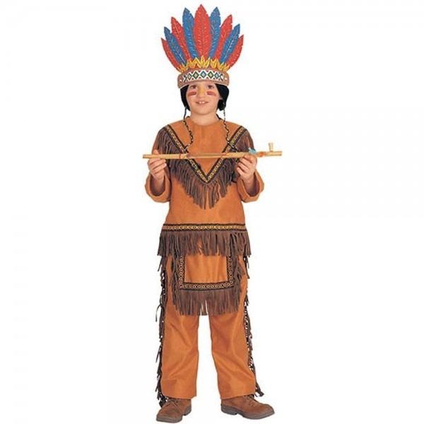 Native American Boy (light Brown) Child Costume Size Small  Amazon