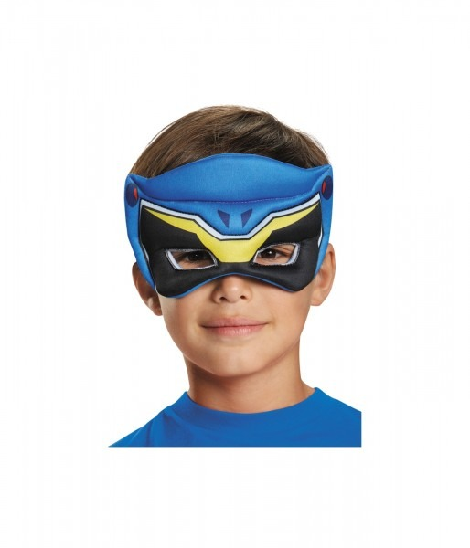 Blue Power Ranger Dino Charge Boys Puffy Mask