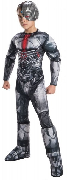 Kids Deluxe Cyborg Costume Size Small (4