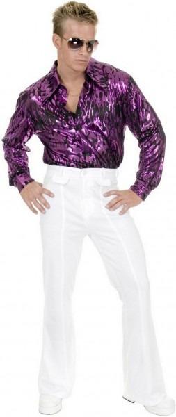 White Disco Pants