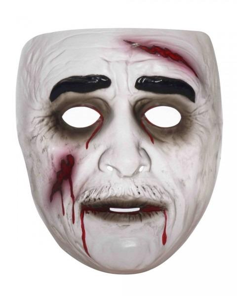 Transparent Zombie Halloween Mask