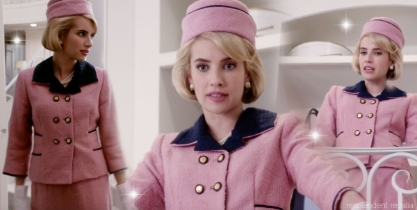 Chanel Oberlin (played By Emma Roberts) In Jackie Kennedy
