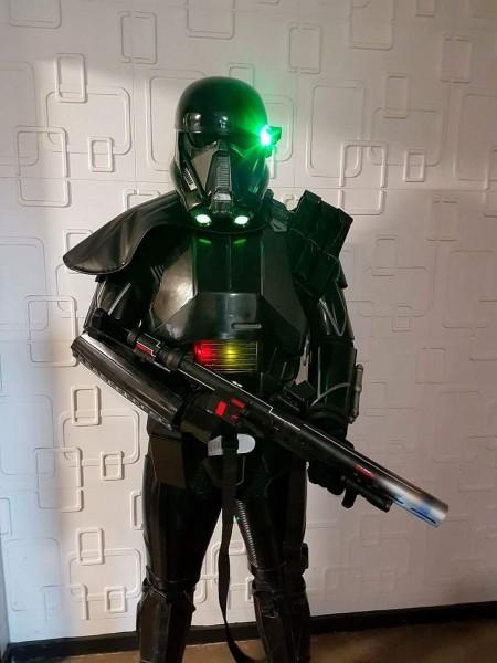 Fanmade Death Trooper Costume   Starwars