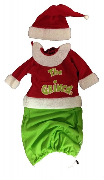 Amazon Com  The Grinch Baby Costume And Hat  Toys & Games