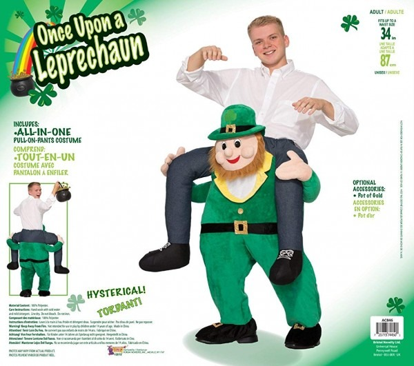 Amazon Com  Forum Novelties Men's Once Upon A Leprechaun Costume