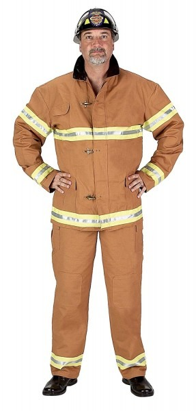 Amazon Com  Aeromax Adult Firefighter Costume  Clothing