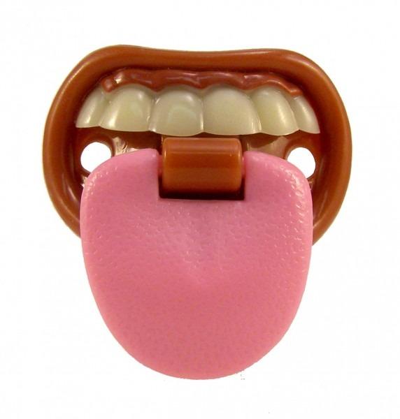 Amazon Com   Billy Bob Teeth Baby With Attitude Tongue Novelty