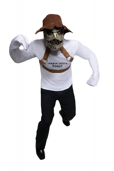 Amazon Com  Dc Comics Rogues Gallery Adult Scarecrow Set, White
