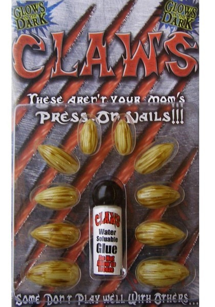 Amazon Com  Claw Nails Adult  Clothing