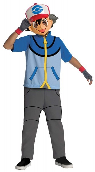 Amazon Com  Pokemon Child's Ash Costume