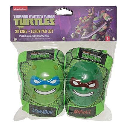 Amazon Com   Teenage Mutant Ninja Turtles Tmnt Knee And Elbow Pads