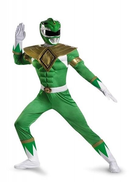 Amazon Com  Disguise Sabans Mighty Morphin Power Rangers Green
