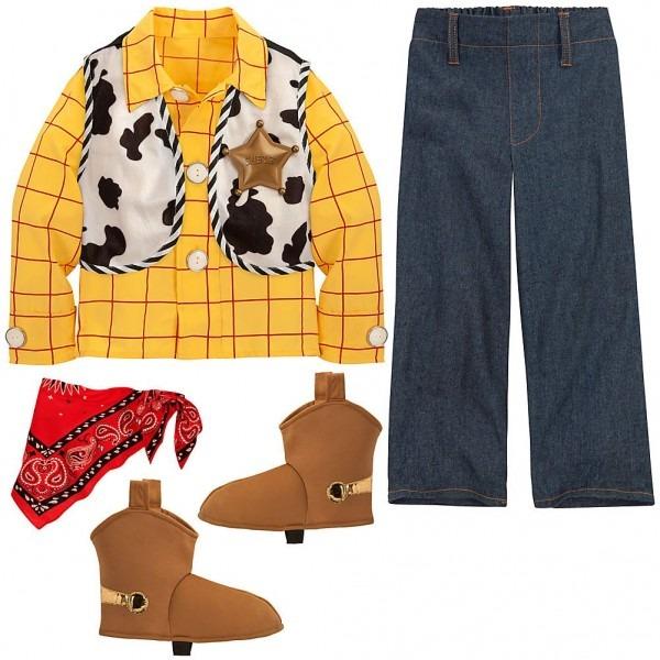 Amazon Com  Disney Store Woody Halloween Costume Size Small 5 6