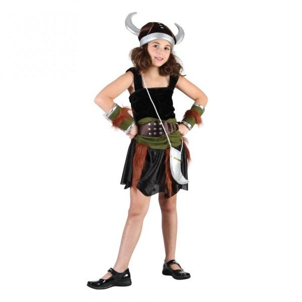 Medium Girls Viking Costume