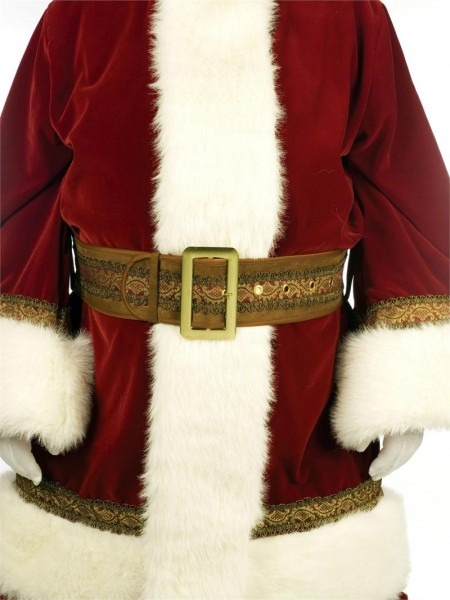 Deluxe Old Time Santa Suit