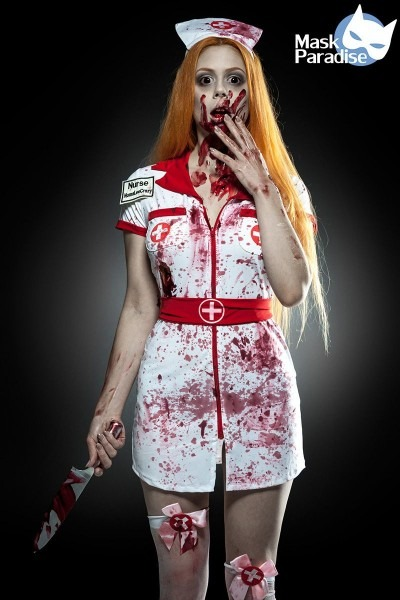 Zombie Nurse Costume By Selecta Fashion