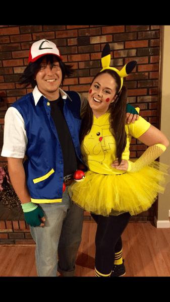 Couplescostume  Pikachu  Pokemon  Ashketchum  Diycouplescostume