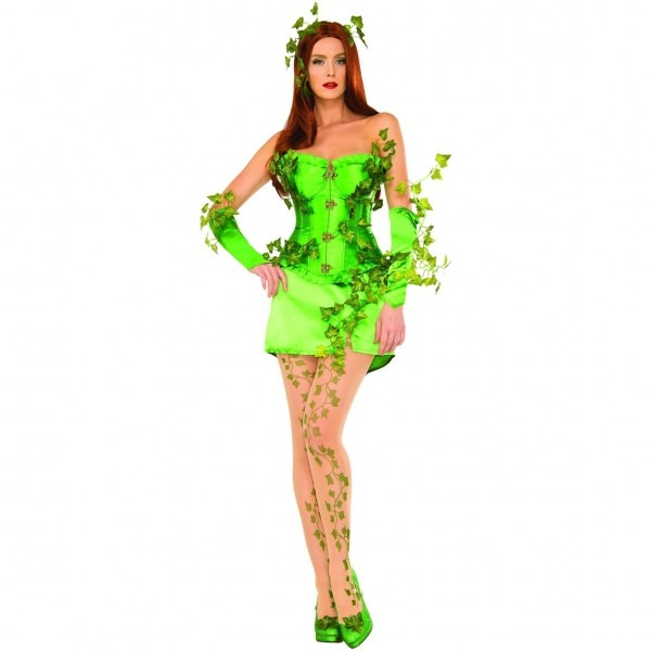 Rubie's Costume Adult Deluxe Poison Ivy Halloween Costume