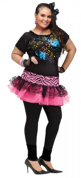 80's Pop Party Girl Plus Size Costume In 2018