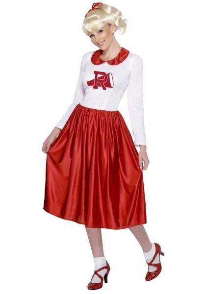 Teen Rydell High Grease Cheerleader Costume In 2018