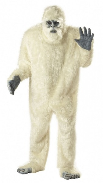 Abominable Snowman Yeti Costume In 2018