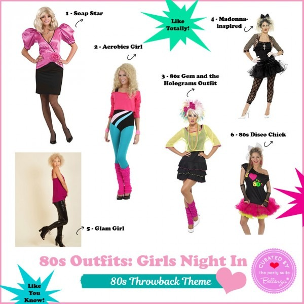 Fun 80s Party Outfits For A Girls Night In  Like Totally!