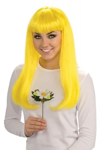 Amazon Com  Rubie's Costume The Smurfs 2 Smurfette Wig, Yellow