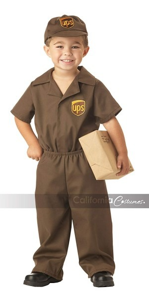 Amazon Com  California Costumes Ups Driver Toddler Costume, 2