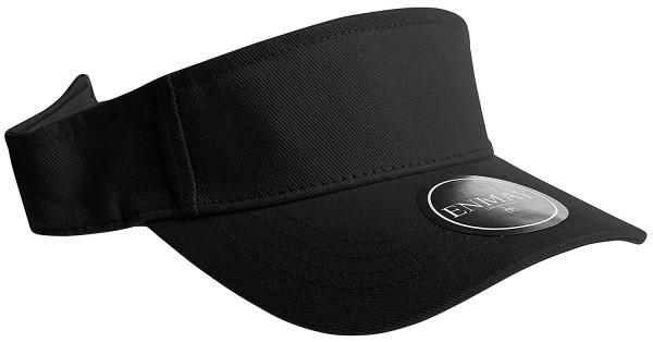 Enimay Sports Tennis Golf Sun Visor Hats Adjustable Velcro Plain